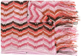 Missoni Pre-Owned Woven Fringed Scarf