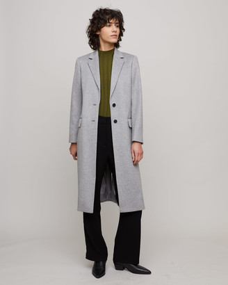 Jigsaw Luxe Long City Coat