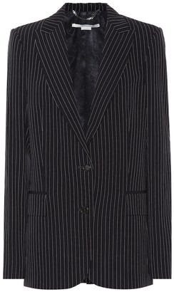 Stella McCartney Striped wool blazer
