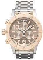 Nixon 'The 38-20' Chronograph Bracelet Watch, 38mm