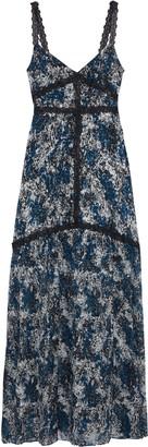 Rachel Zoe Ombretta Printed Fil Coupe Chiffon Gown