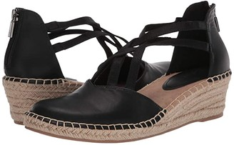 Kenneth Cole Reaction Clo Elastic Wedge (Black) Women's Shoes
