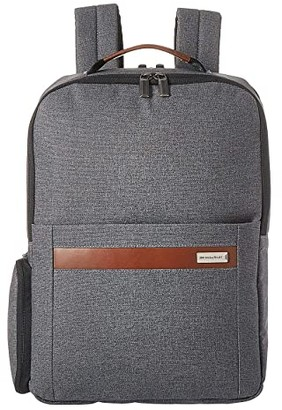Briggs & Riley Kinzie Street - Medium Backpack (Grey) Backpack Bags
