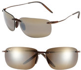Maui Jim Women's Olowalu 65Mm Polarizedplus2 Rimless Sunglasses - Rootbeer Copper/ Bronze