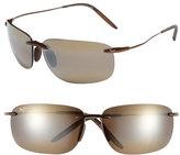 Maui Jim Women's 'Olowalu' 65Mm Rimless Sunglasses - Rootbeer Copper/ Bronze
