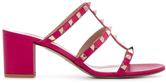 Valentino Rockstud mid-heel sandals