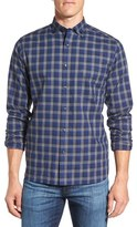 Maker & Company Men's Check Herringbone Sport Shirt