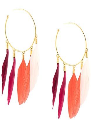 Mercedes Salazar Maat hoop earrings