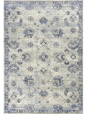 "Ophelia Crutcher Power Loom Gray/Blue Rug & Co. Rug Size: Runner 2'2"" x 7'5"""