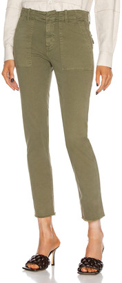 Nili Lotan Jenna Pant in Military Green | FWRD