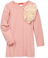 Funkyberry Floral Tunic (Toddler & Little Girls)
