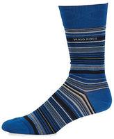 HUGO BOSS Striped Dress Socks