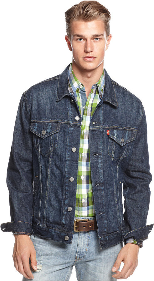 Levi's Relaxed Denim Trucker Jacket