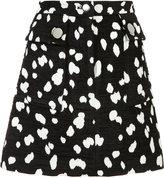 ADAM by Adam Lippes jacquard mini skirt - women - Cotton/Acrylic/Polyester - 2