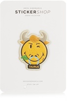 Anya Hindmarch Taurus zodiac small sticker