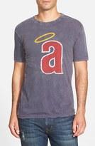 Red Jacket Men's 'Los Angeles Angels - Scatter' Burnout T-Shirt