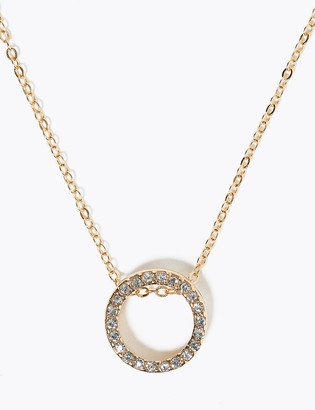Marks and Spencer Small Circle Necklace