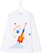 Paul Smith rocket long sleeved T-shirt - kids - Cotton - 2 yrs