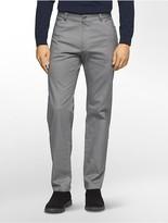 Calvin Klein Slim Fit Herringbone Tweed Pants