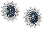 Effy Diamond Stud Earrings (9/10 ct. t.w.) in 14k White Gold