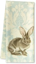 Williams-Sonoma Williams Sonoma Damask Bunny Kitchen Towels, Set of 2