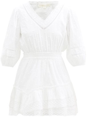 LoveShackFancy Adley Cotton Broderie-anglaise Dress - White