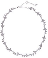 Givenchy Crystal Accented Ivy Necklace