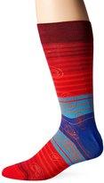 Bugatchi Men's Paisley Lines Fancy Sock