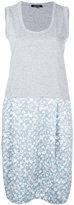 Garpart pattern skirt tank dress