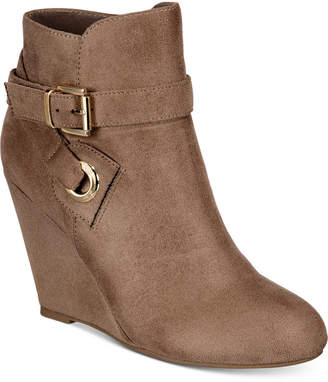Zigi Keylie Wedge Booties Women Shoes