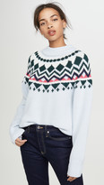 Tory Sport Performance Merino Fair Isle Sweater
