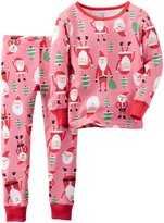 Carter's Santa Claus Print PJ Set (Toddler/Kid) - Print - 5
