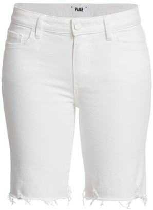 Paige Jax Cut-Off Denim Shorts