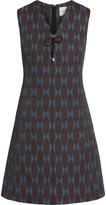 Mary Katrantzou Quartz jacquard mini dress