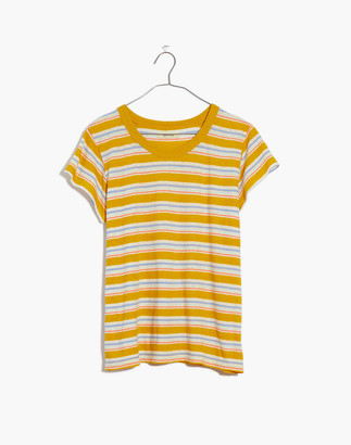 Madewell The Perfect Vintage Tee in Upson Stripe