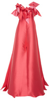 Alexis Mabille Strapless Bow Detail Gown