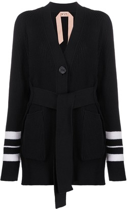 No.21 Belted Cardi-Coat