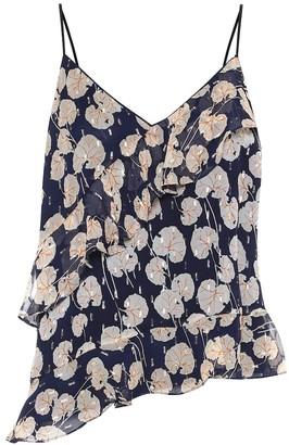 Diane von Furstenberg Lara printed silk-blend camisole