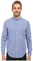 Lacoste Segment 1 Long Sleeve Gingham Check
