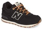 New Balance Toddler 574 Heritage Sport Sneaker