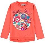 Boboli Girl's Stretch Knit T-Shirt