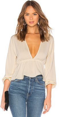 superdown Skylar Deep V Top