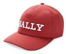 Bally Men's Logo Canvas Baseball Cap