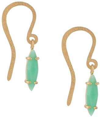 Wouters & Hendrix Chrysoprase Drop Earrings