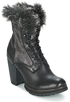 Bunker ACE MAJA women's Low Ankle Boots in Black
