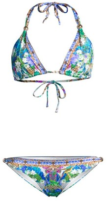 Camilla Moon Garden Ball Printed 2-Piece Bikini