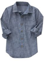 Crazy 8 Arrow Chambray Shirt