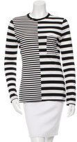 Edun Striped Long Sleeve Top