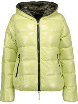 Duvetica Thia Quilted Shell Hooded Down Coat
