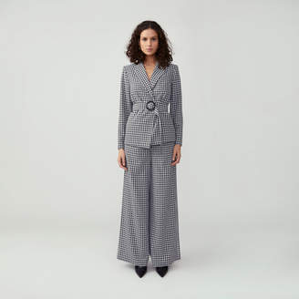 Fame & Partners O-Ring Belted Suit